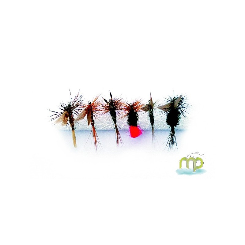 KIT MOUCHES MUSTAD SECHES