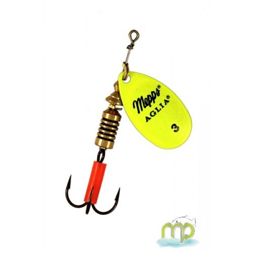 CUILLER MEPPS AGLIA CHARTREUSE FLUO