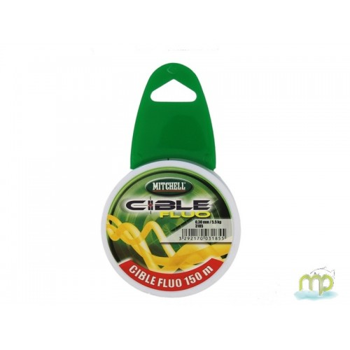 NYLON MITCHELL CIBLE FLUO 150 M