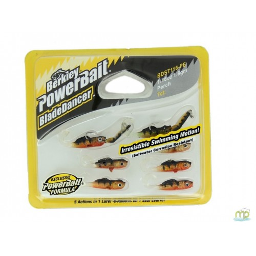 KIT LEURRES SOUPLES BERKLEY BLADE DANCER PERCH