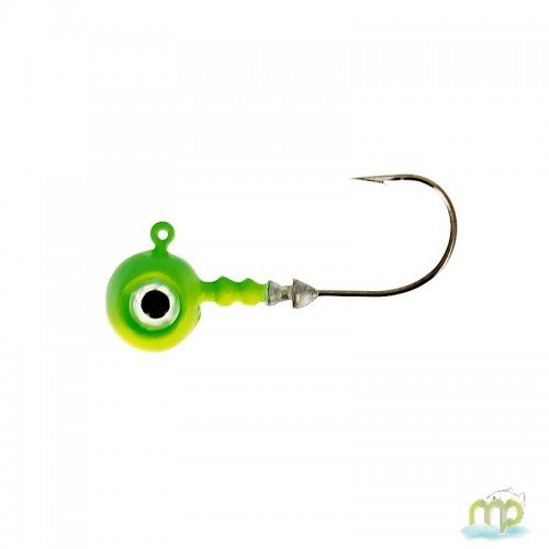 TETE PLOMBEE VMC BIG EYE CHARTREUSE LIME PAR 4