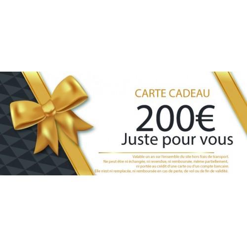 CHEQUE CADEAU MOTILLON PECHE 200€