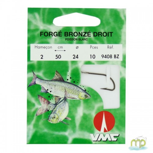 HAMECON MONTE WATER QUEEN FORGE BRONZE DROIT POISSON BLANC