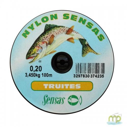 NYLON SENSAS TRUITES 100M
