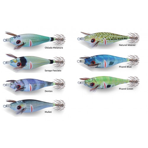 TURLUTTE DTD WOUNDED FISH BUKVA 5.5CM