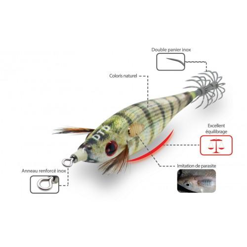 TURLUTTE DTD REAL FISH BUKVA 6.5CM