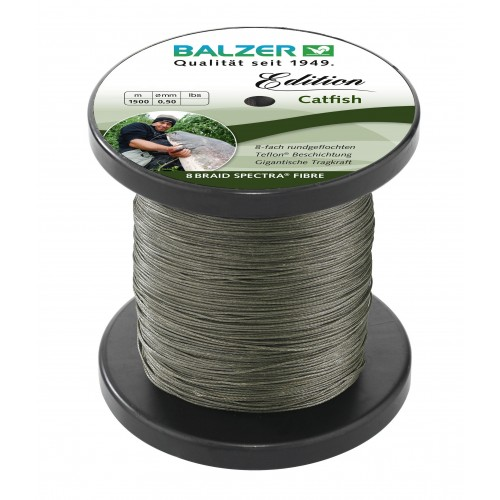 TRESSE BALZER EDITION CATFISH GREEN 1500M