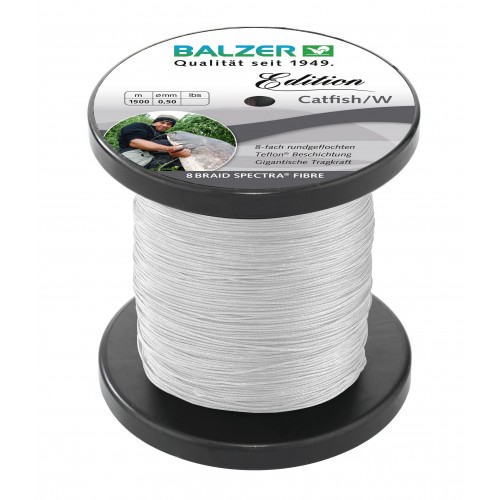 TRESSE BALZER EDITION CATFISH WHITE 1500M