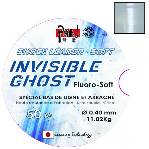 SHOCK LEADER 100% PVDF PAN 50M