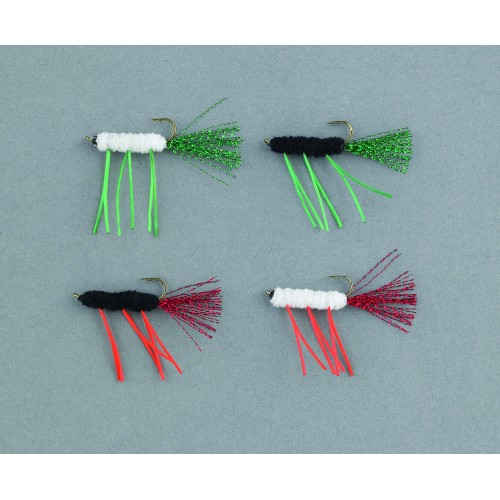 ASSORTIMENT LEURRES BALZER TROUT ATTACK STREAMER FL
