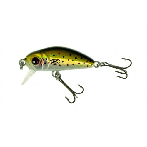 POISSON NAGEUR MINI LUCKER ZACK SINKING 3.5CM