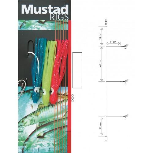 BAS DE LIGNES MUSTAD SPECIAL EPAVES T3 N°5/0