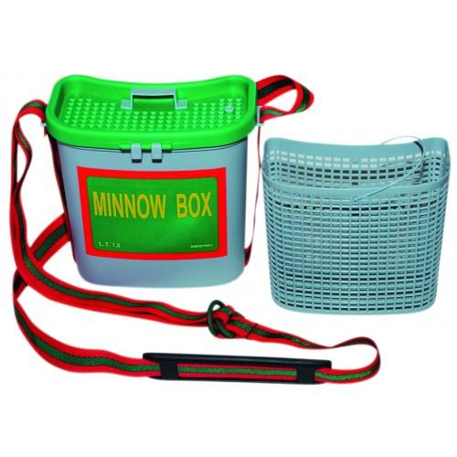 SEAU VIVIER AUTAIN MINNOW BOX 1.5L