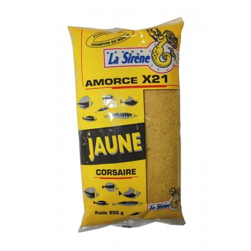 AMORCE LA SIRENE X21 JAUNE CORSAIRE 850G