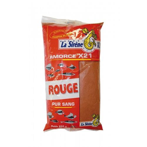 AMORCE LA SIRENE X21 ROUGE PUR SANG 850G