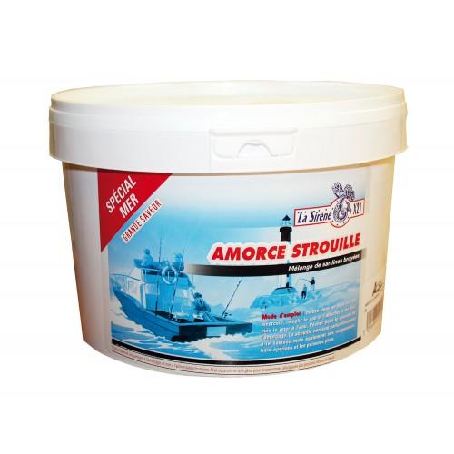 AMORCE STROUILLE LA SIRENE X21 SEAU 3KG