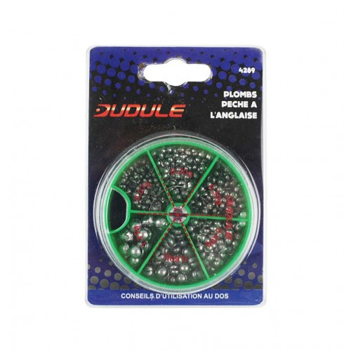 BOITE PLOMBS ANGLAIS DUDULE 6 CASES