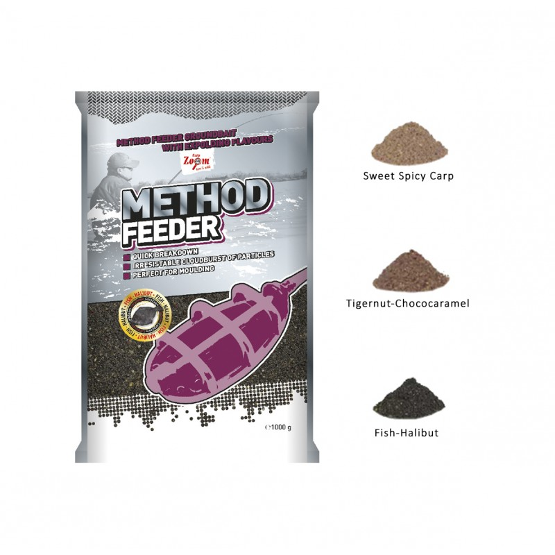 AMORCE CARP ZOOM METHOD FEEDER GROUNDBAIT 1KG
