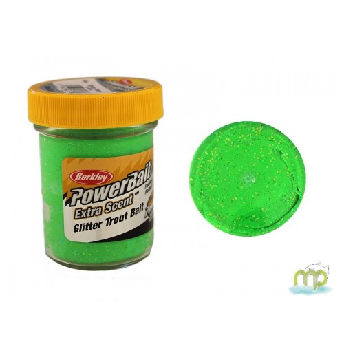 PATE A TRUITE BERCKLEY SPRING GREEN POWER BAIT