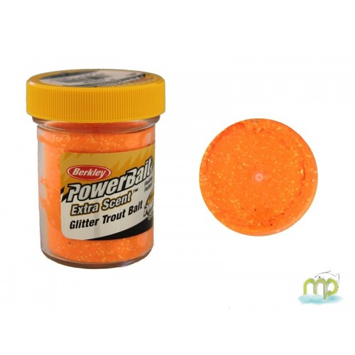 PATE A TRUITE BERCKLEY FLUE ORANGE POWER BAIT