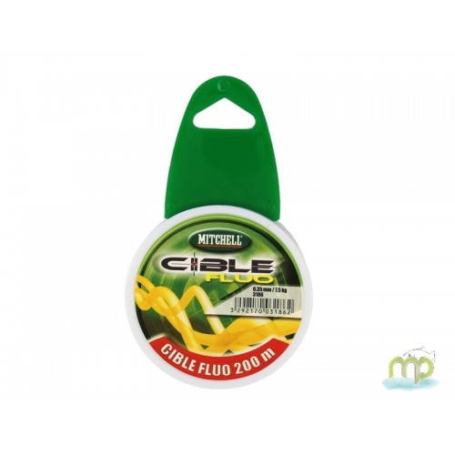 NYLON MITCHELL CIBLE FLUO 200 M