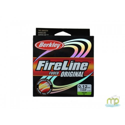 TRESSE BERKLEY FIRELINE FUSED ORIGINAL VERTE 110 M