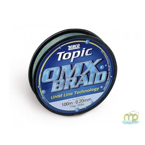 TRESSE ZEBCO OMX BRAID 100 M