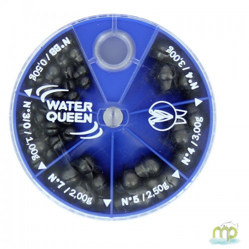 PLOMBS CHEVROTINES WATER QUEEN - BOITE 6 CASES
