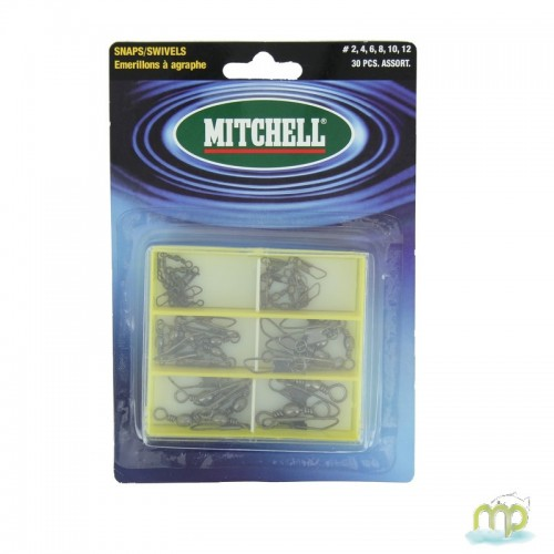 ASSORTIMENT EMERILLONS A AGRAFE MITCHELL