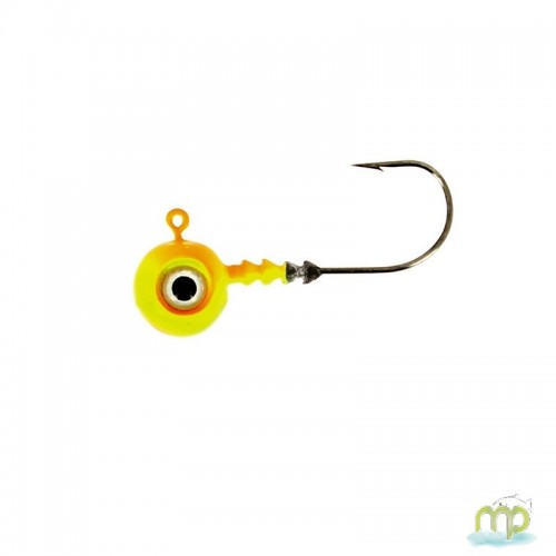 TETE PLOMBEE VMC BIG EYE CHARTREUSE ORANGE PAR 4