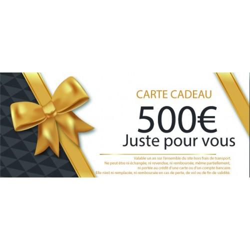 CHEQUE CADEAU MOTILLON PECHE 500€