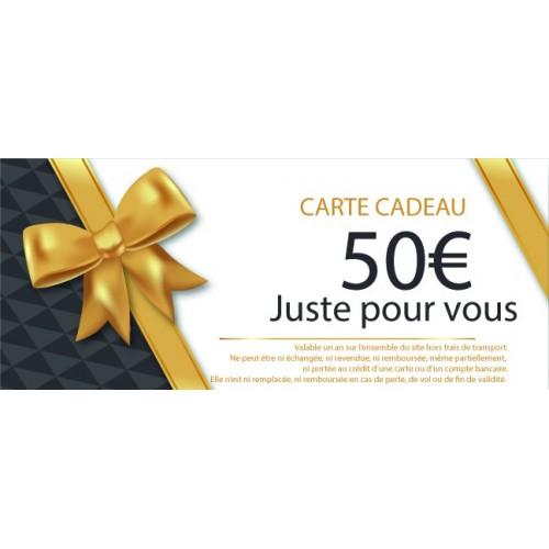 CHEQUE CADEAU MOTILLON PECHE 50€