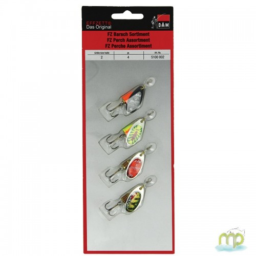 CUILLER DAM EFFZETT PERCH SPINNER PAR 4