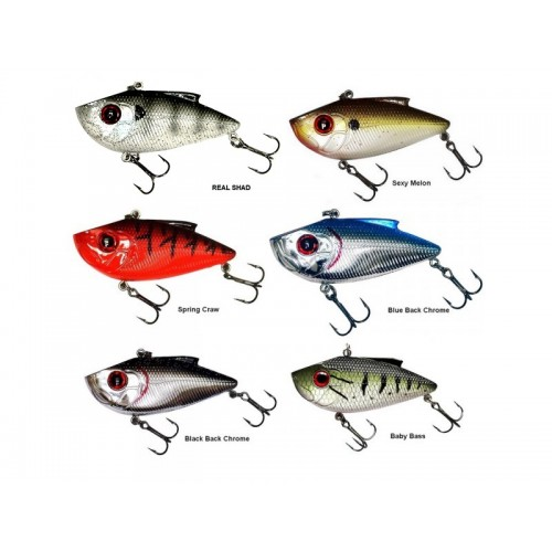 LEURRE COULANT LIVINGSTON LURES PRO RIPPER FRESH WATER 5 CM