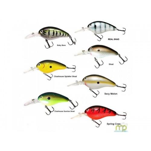LEURRE FLOTTANT LIVINGSTON LURES DIVE MASTER 14 FRESH WATER 7 CM