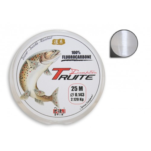 FLUOROCARBONE PAN TRUITE INNOVATION 25M