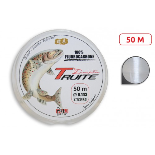 NYLON PAN FLUOROCARBONE TRUITE INNOVATION 50M