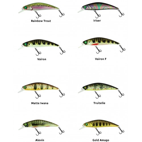 POISSON NAGEUR ADAM'S ZERO ARISE MINNOW 7CM