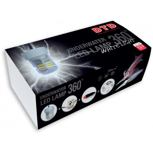 LAMPE DTD LED 360° PROFI BLANCHE