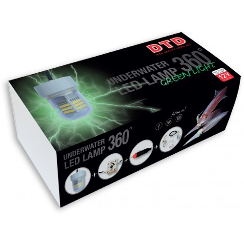 LAMPE DTD LED 360° PROFI GREEN