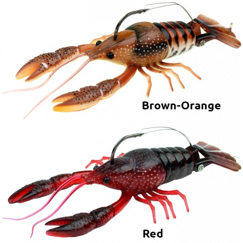 LEURRE SOUPLE RIVER2SEA CLAKIN CRAYFISH 90