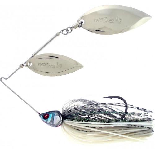 SPINNERBAIT RIVER2SEA BLING DW 11G