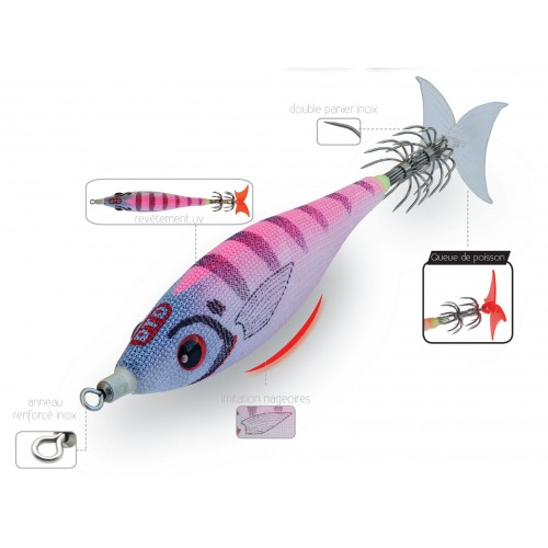 TURLUTTE DTD PANIC FISH BUKVA 8CM