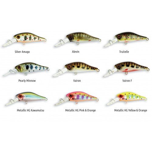 POISSON NAGEUR ADAM'S FLOTTANT SHAD 34 F - MR