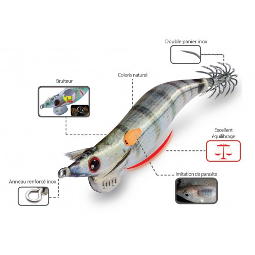 TURLUTTE DTD REAL FISH OITA 7.5CM