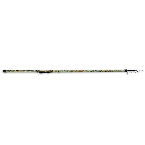 CANNE TELEREGLABLE TRUITE INNOVATION TELETROUT CAMOUFLAGE
