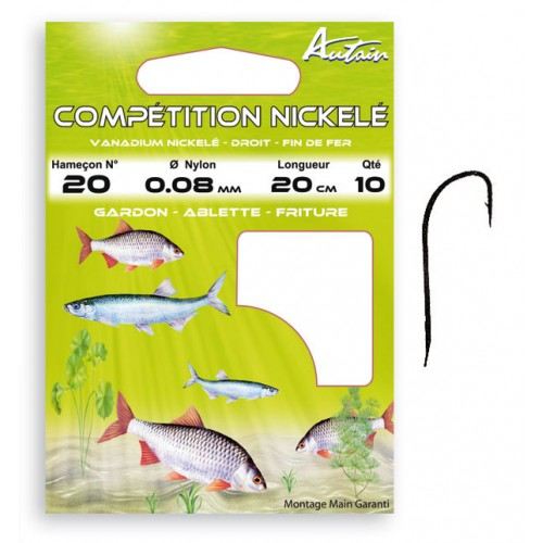 HAMECONS MONTES AUTAIN COMPETITION NICKELE