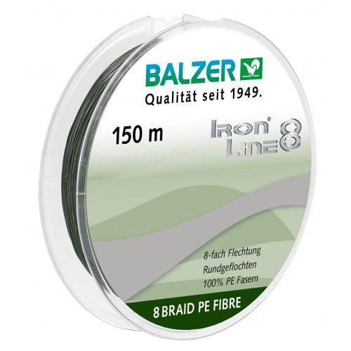 TRESSE BALZER IRON LINE 8 VERT 150M