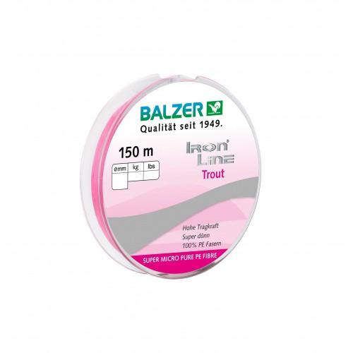 TRESSE BALZER IRON LINE TROUT ROSE 150M