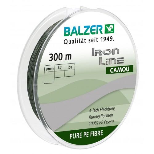 TRESSE BALZER IRON LINE 4 CAMOU 300M